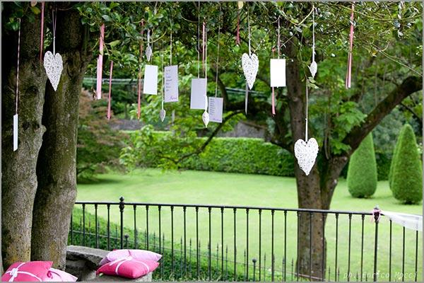Villa-Pestalozza ricevimento matrimonio nel parco