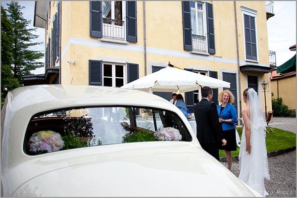 noleggio auto d'epoca matrimonio Lago d'Orta