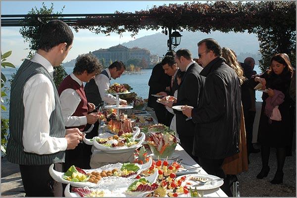 matrimonio ristorante Verbano con terrazza sul Lago Maggiore
