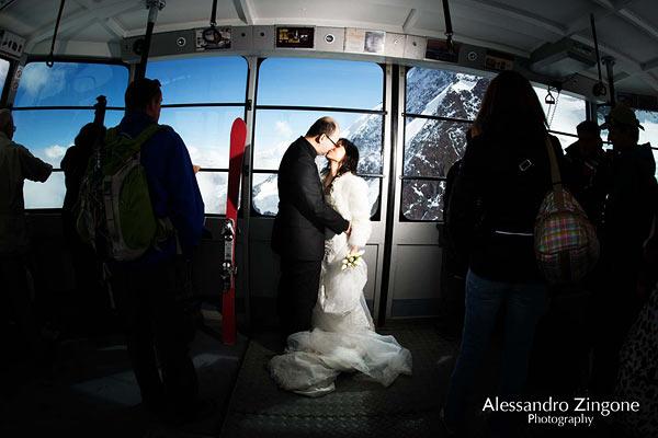 matrimonio a Zermatt Svizzera