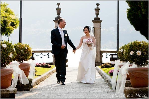 matrimonio con cerimonia civile Villa Bossi Orta