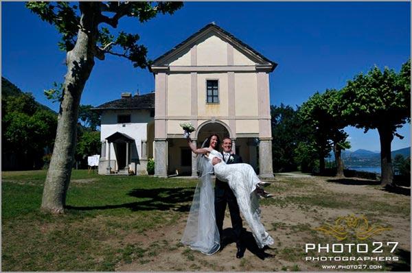 matrimonio chiesa Sacro Monte Ghiffa Verbania