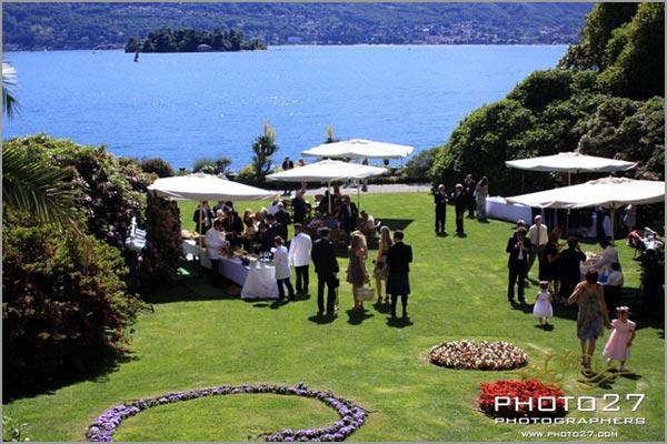 villa matrimonio lago Maggiore