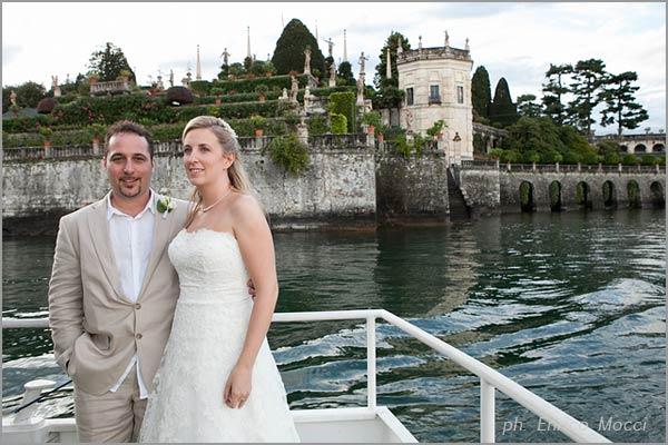 matrimonio Isola Bella Stresa Lago Maggiore