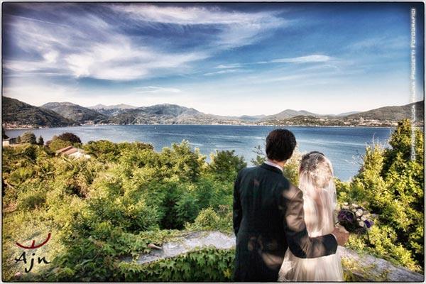 matrimonio a Villa Margherita Lago Maggiore