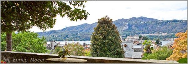 ricevimento matrimonio in giardino vista lago d'Orta