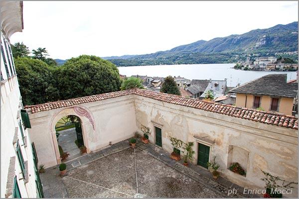 villa matrimonio con panorama Lago d'Orta