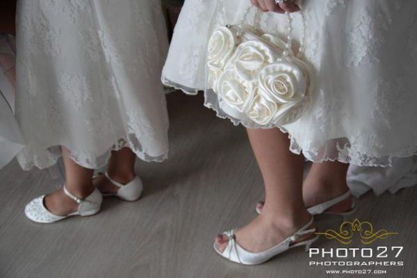 bouquet a borsetta per damigella sposa