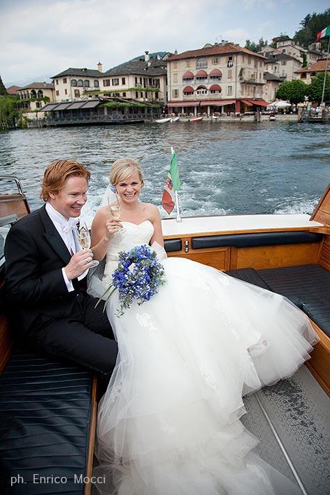 bouquet per sposa con delpinium blu