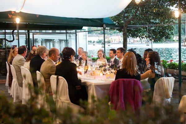 cena di matrimonio Ristorante San Giulio Lago d'Orta
