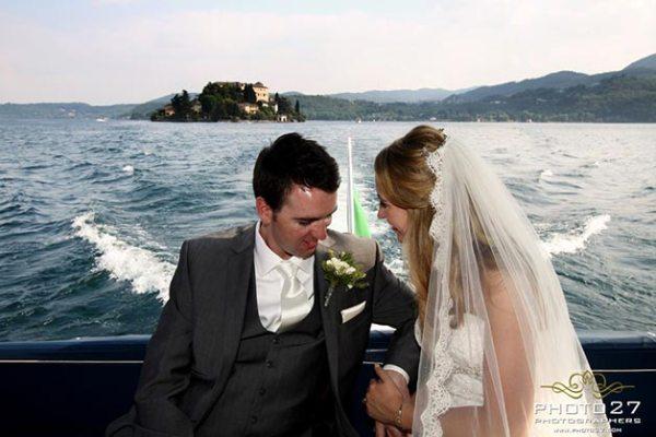 matrimonio Navigazione lago d'Orta