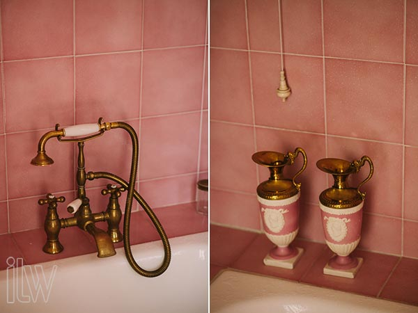 sala da bagno Villa Pestalozza