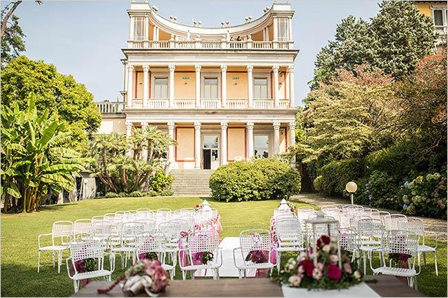 Cerimonie di matrimonio civile a Villa Giulia di Pallanza