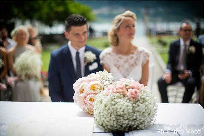fiori matrimonio Villa Bossi