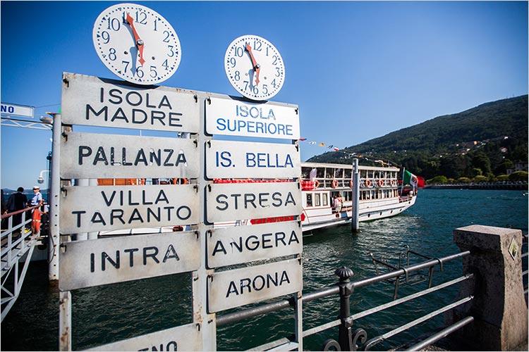 tour in battello matrimonio lago Maggiore