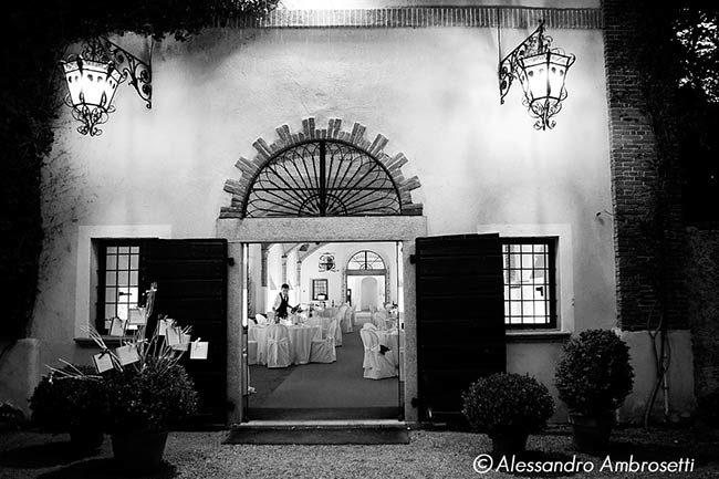 Ricevimento nella Abbazia di Santo Spirito © foto Alessandro Ambrosetti