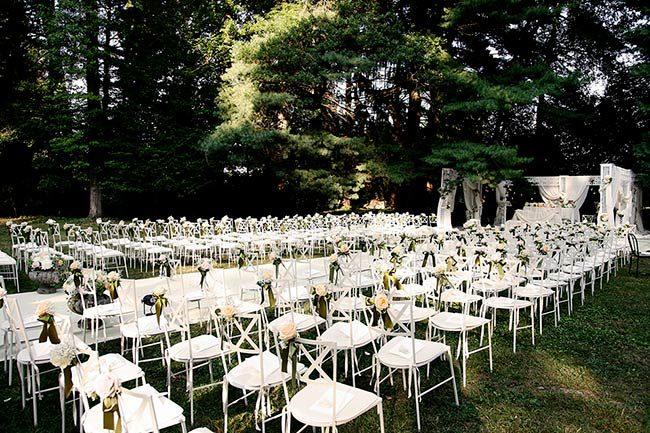 Cerimonia nel parco della Abbazia di Santo Spirito © foto Photo27