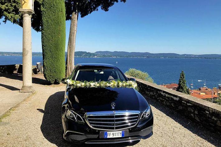 Noleggio Mercedes matrimonio Stresa lago Maggiore