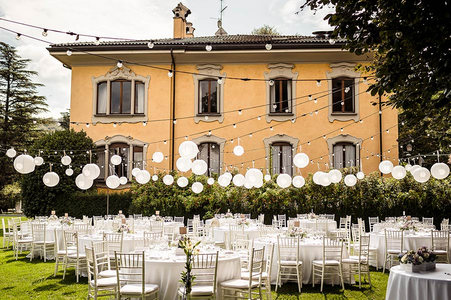 Food and Party Design catering matrimonio Lago Maggiore