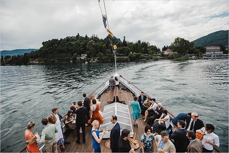 Matrimonio vintage sul piroscafo Piemonte