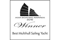 Asia Boating Awards Lagoon 42 Best Multihull Sailing Yacht