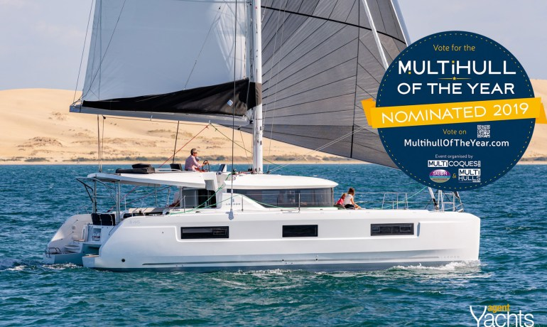 Lagoon 46 - Multihull of the year