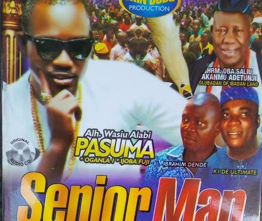 Pasuma - Senior Man Olubadan Ft. K1 De Ultimate
