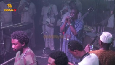 K1 De Ultimate Sings For Bunrna Boy At Club Quilox