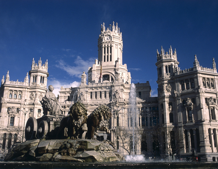 I Madrid finns både arkitektur, historia, god mat...