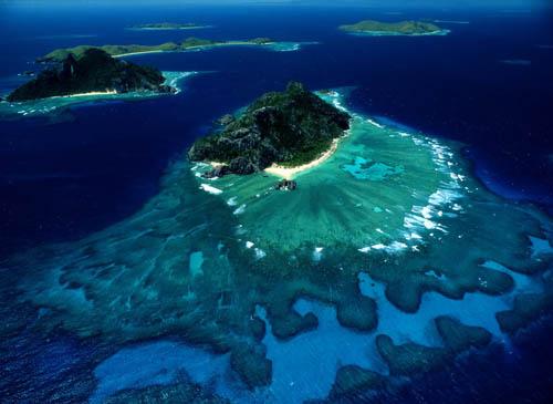 Fiji består av massor av öar
