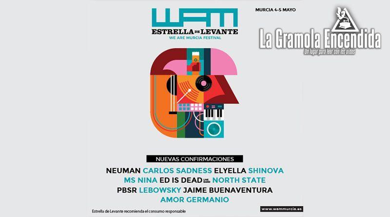 11 nuevas confirmaciones y fiesta de presentación gratuita en Madrid para WAM Estrella de Levante 2018