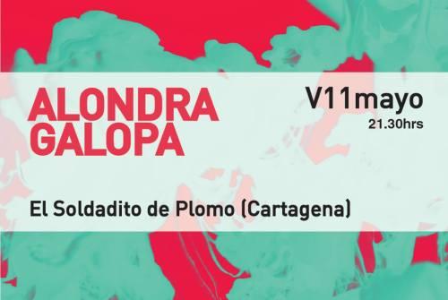 Alondra Galopa a la conquista de Cartagena