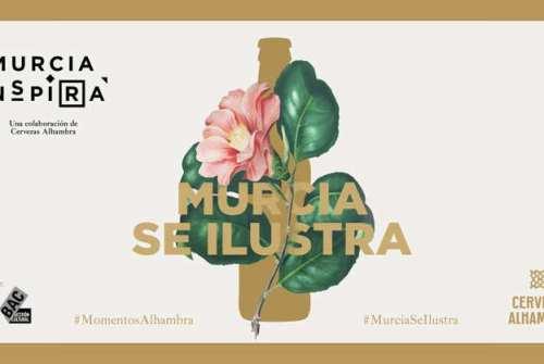 """Llega """"Murcia Se Ilustra"""", un nueva experiencia de Murcia Inspira y Cervezas Alhambra"""