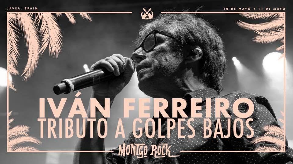 Iván Ferreiro y su homenaje a Golpes Bajos primer cabeza de cartel de Montgorock