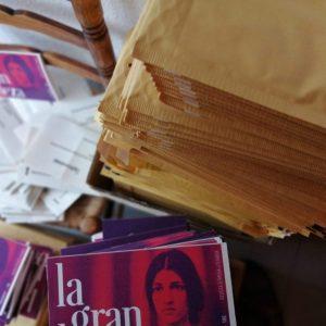 500 revistas listas para enviar