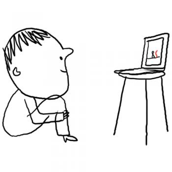 La grande histoire d'un petit trait, conte à dessiner