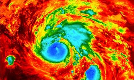Relier les points: rechauffement climatique et la météo extrême