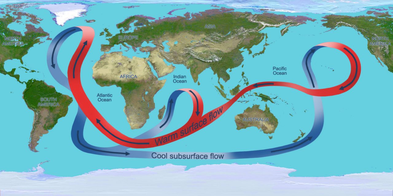 Le ralentissement du courant Nord Atlantique pourrait déclencher 20 ans de réchauffement climatique rapide