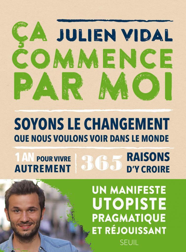 """Book cover: """"Ca Commence Par Moi"""""""