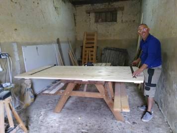 Cedric woodworking