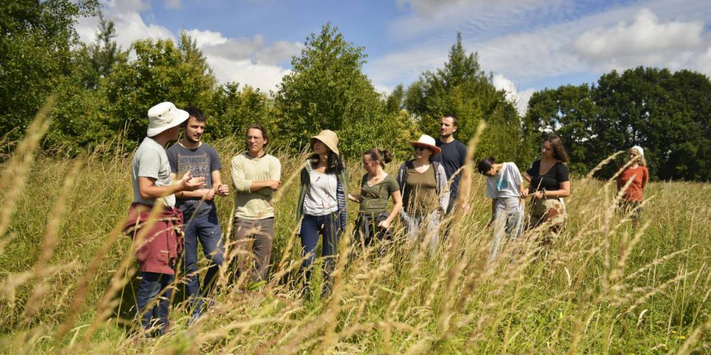 June permaculture course participants