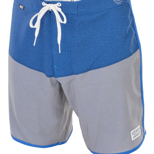 MBS026 ANDY17 GREY F - Boardshort PICTURE Andy 17'' grey melange