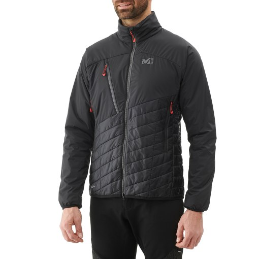 veste technique chaude ski polyester recyclé