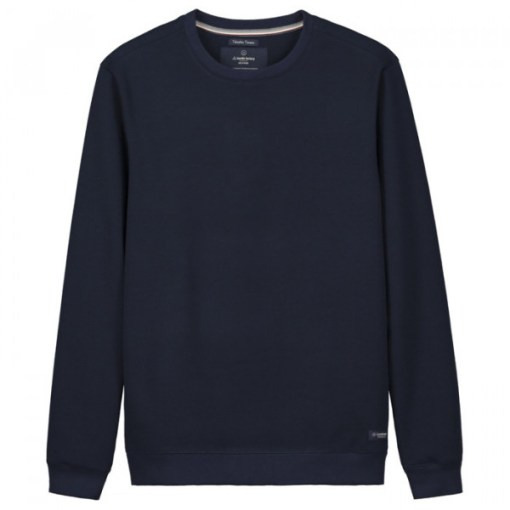 sweat homme made in france bleu marine fibres recyclées