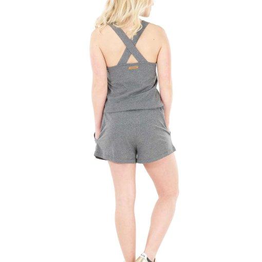 combishort gris pour femme