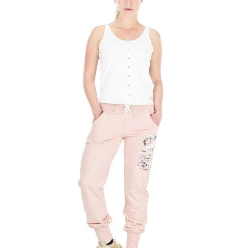 jogging rose femme picture