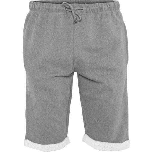 short polaire homme gris coton bio