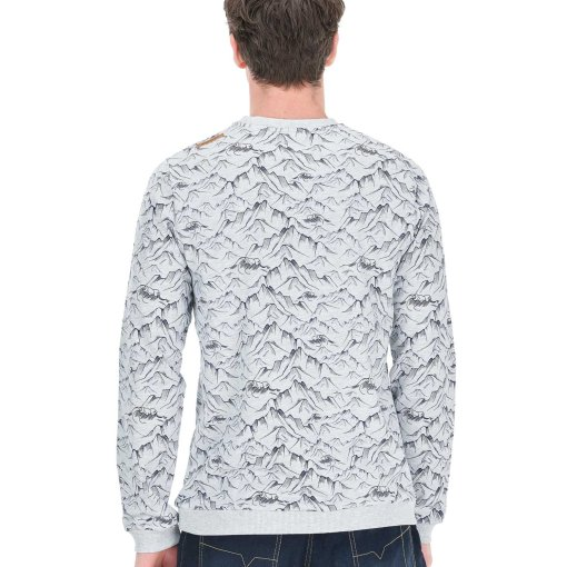 sweat col rond picture pour homme