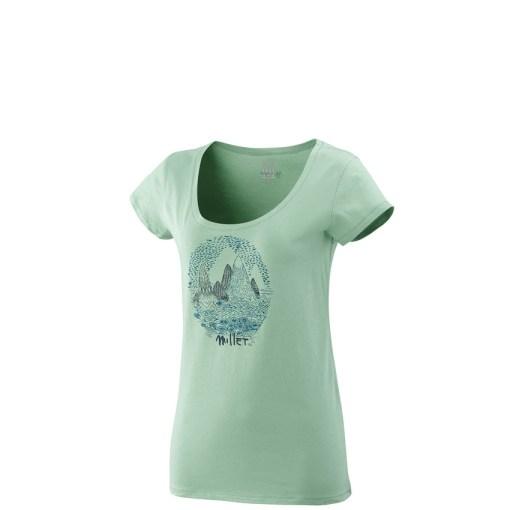 tshirt femme millet vert