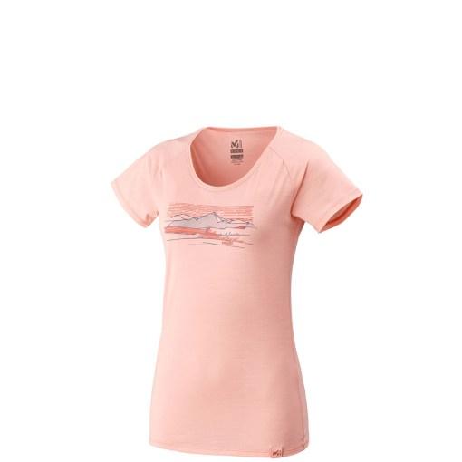 tshirt femme millet rose